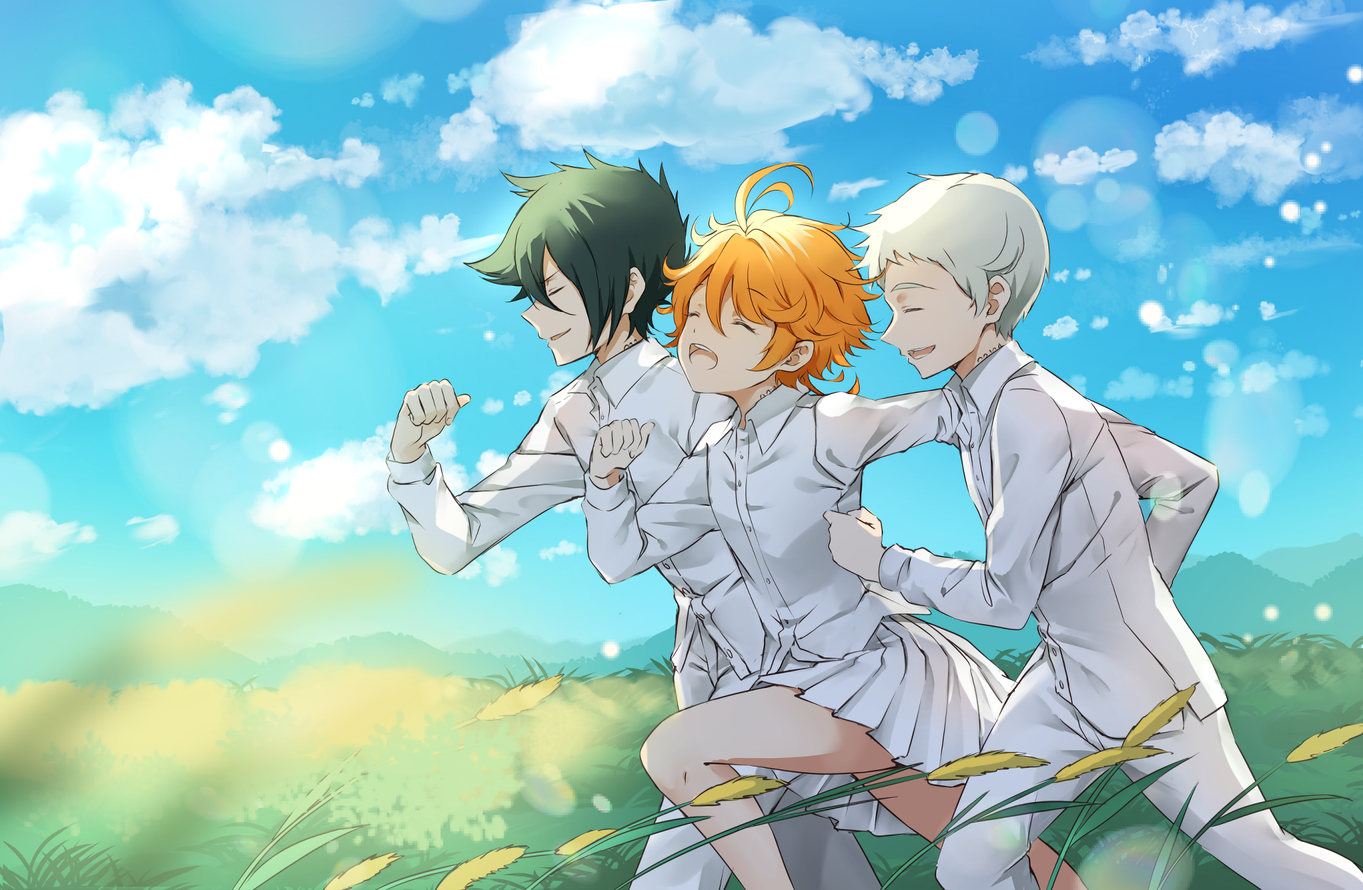 Emma The Promised Neverland Neverland Anime Poster Prints