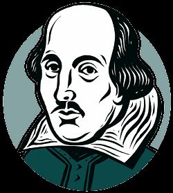 william shakespeare iambic pentameter explained to kids rh pinterest com iago shakespeare clipart shakespeare animated clipart