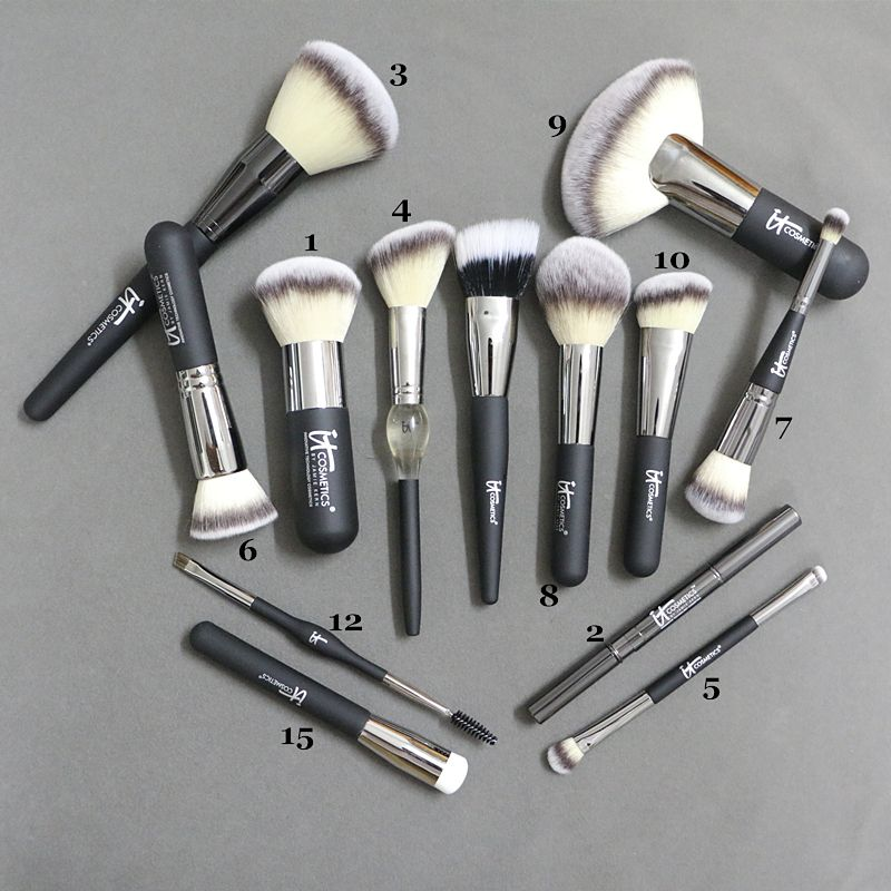 Brand Professional Makeup Brushes Ulta it cosmetics Heavenly Luxe foundation powder kabuki make up kit pinceis maquiagem.-in Makeup Brushes & Tools from ...