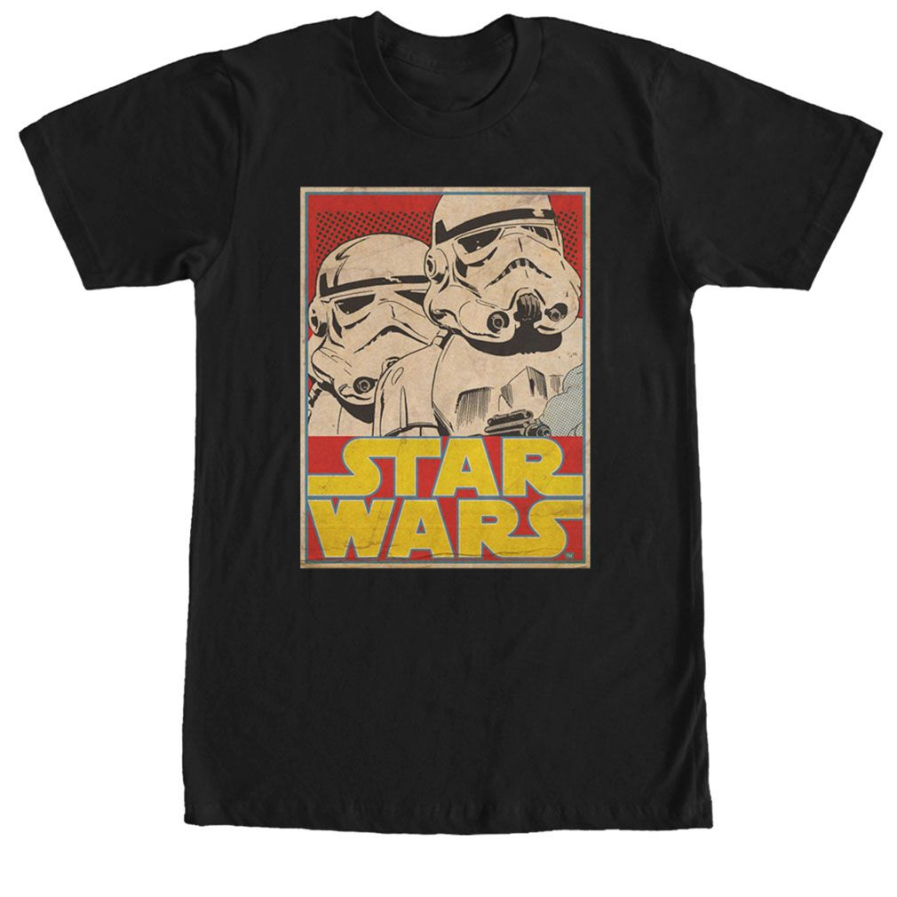 Stormtrooper Playing Card Mens PRINTED T-SHIRT Star Wars Storm Trooper Empire