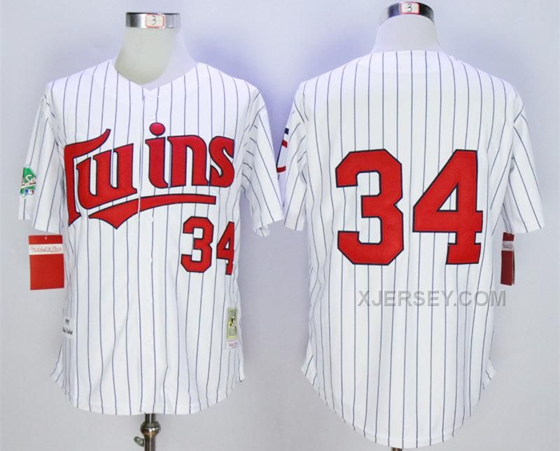 e41df2d7ed3 ... httpwww.xjersey.comtwins-34-kirby- · Minnesota TwinsRetailJerseyHtml Minnesota  Twins 34 Kirby Puckett 1991 White Mitchell Ness Throwback Jersey Replica ...