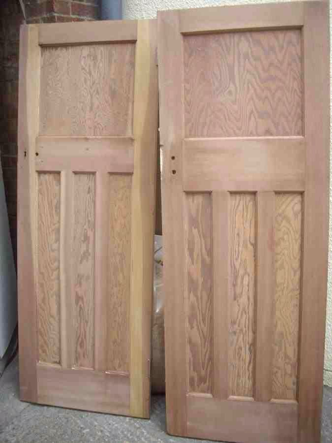 Wooden reclaimed 1920s internal doors kooka 39 s cottage for 1930s front door styles