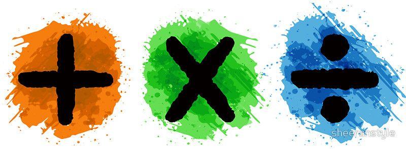 Plus Multiply Divide Album Watercolor Com Imagens Ed Sheeran