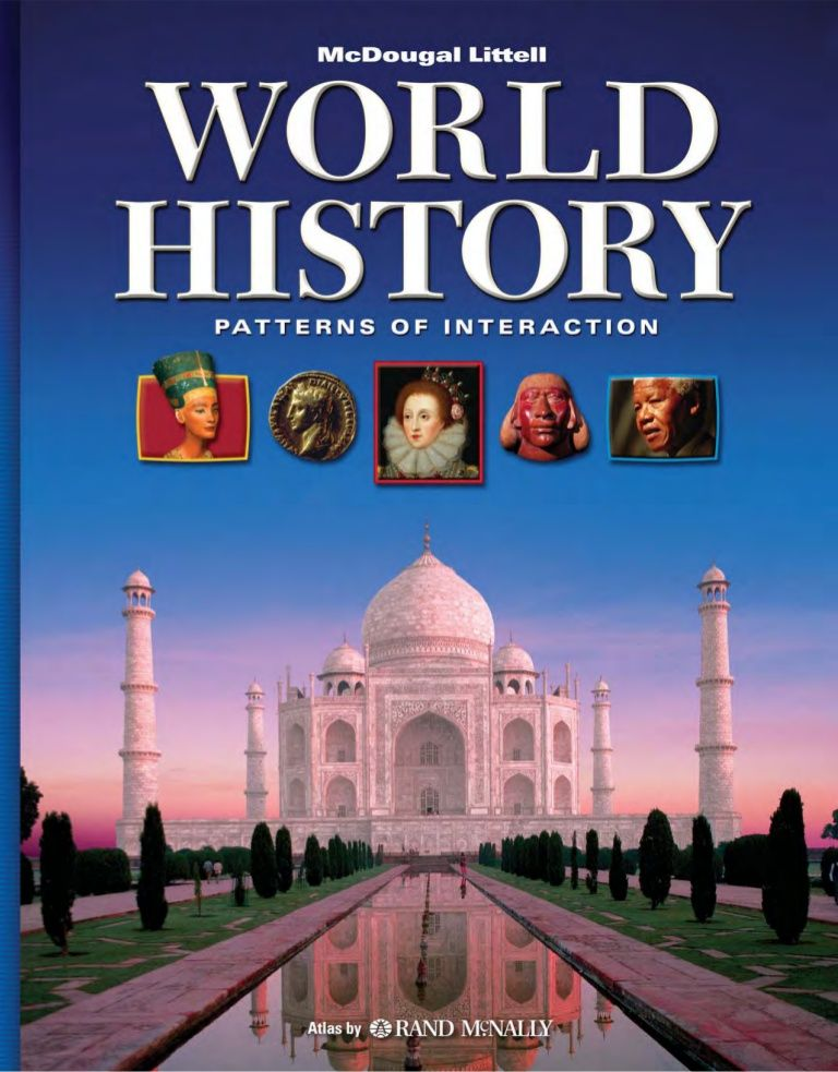 Modern world history textbook social online homeschooling world history grades patterns of interaction mcdougal littell world history patterns of interaction fandeluxe Images