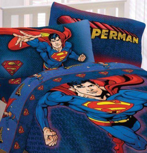Superman So Super Twin Sheets Set Dc Comics Superman Dccomics