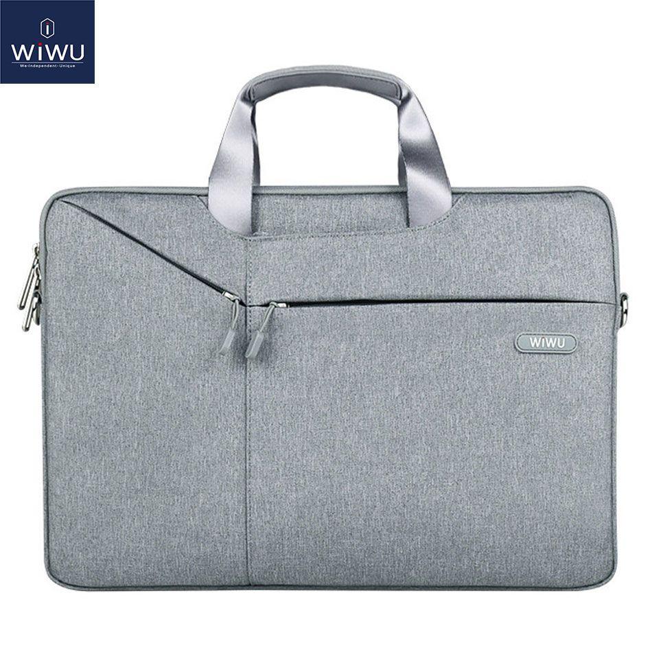 Wiwu Laptop Bag 17 3 15 6 14 1 13 3 Waterproof Notebook Bag For Xiaomi Pro 15 6 Laptop Sleeve For M Vegan Leather Notebook Leather Notebook Waterproof Notebook