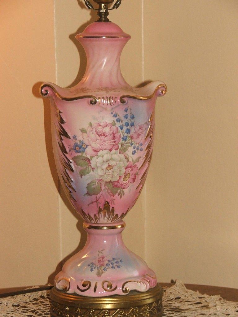 Auctiva Image Hosting Porcelain Dolls For Sale Vintage Table Lamp Antique Porcelain
