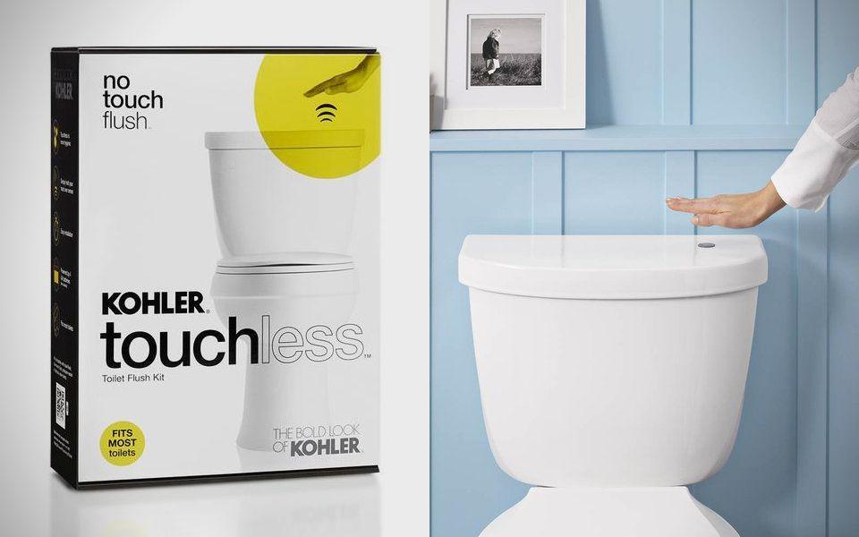 Elegant Kohler touchless Flush Kit