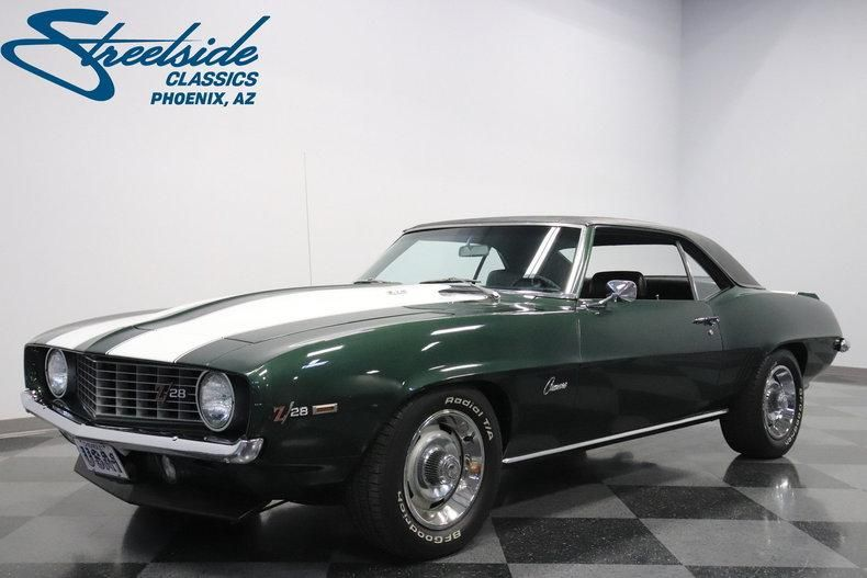 1969 Chevrolet Camaro Z 28 With Images Classic Cars Chevrolet