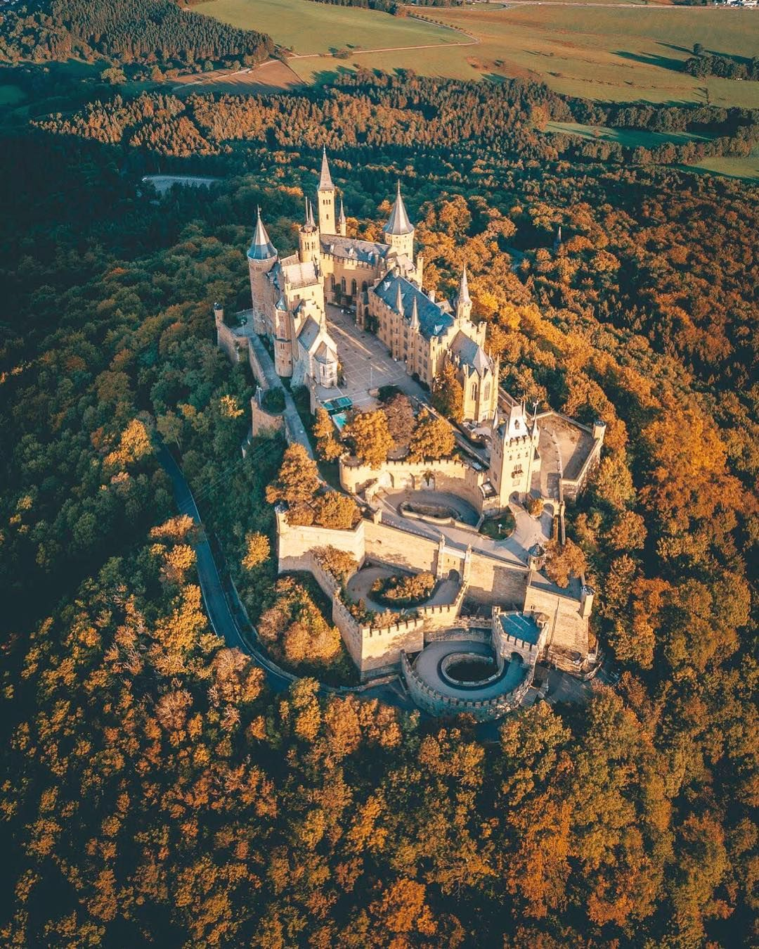 Hohenzollern Castle Germany Hohenzollern Castle Germany Castles Beautiful Castles