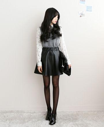 korean fashion - ulzzang - ulzzang fashion - cute girl - cute outfit - seoul style - asian fashion - korean style - asian style - kstyle k-style - k-fashion - k-fashion