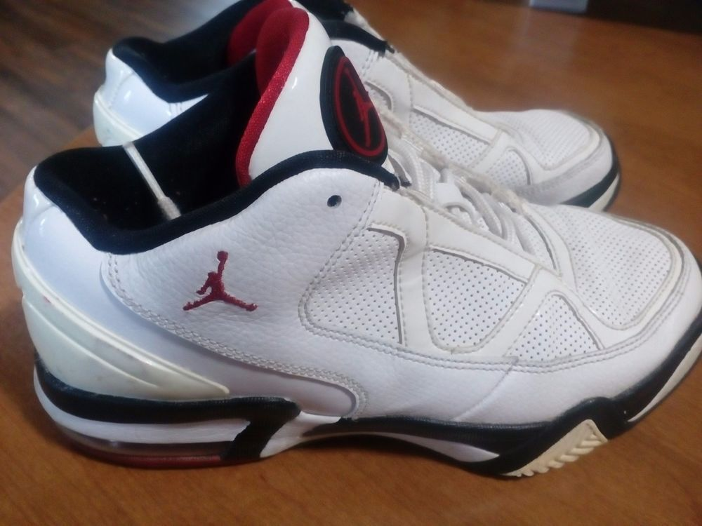 Air Jordan Size 5 5y White Red Black 428906 102 Shoes Fashion