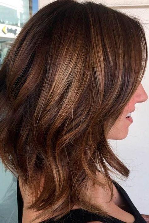 42 Chic Medium Length Layered Hair | Hair lengths, Medium hair ...