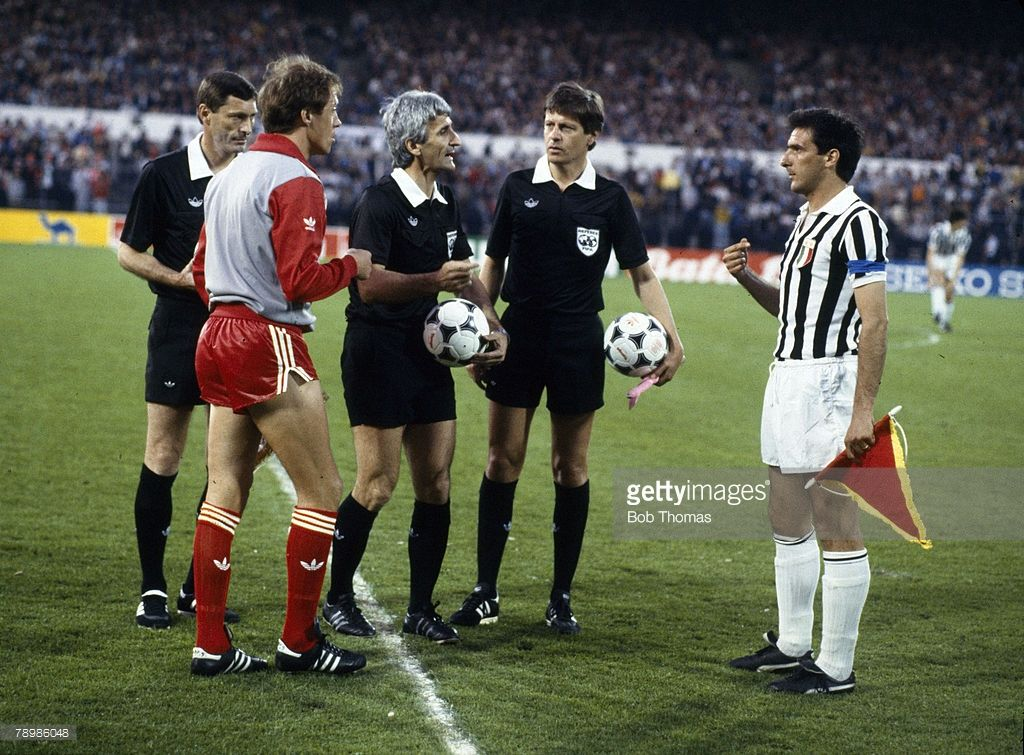 29th May 1985 European Cup Final In Brussels Liverpool 0 V Juventus Cup Final European Cup Liverpool Captain
