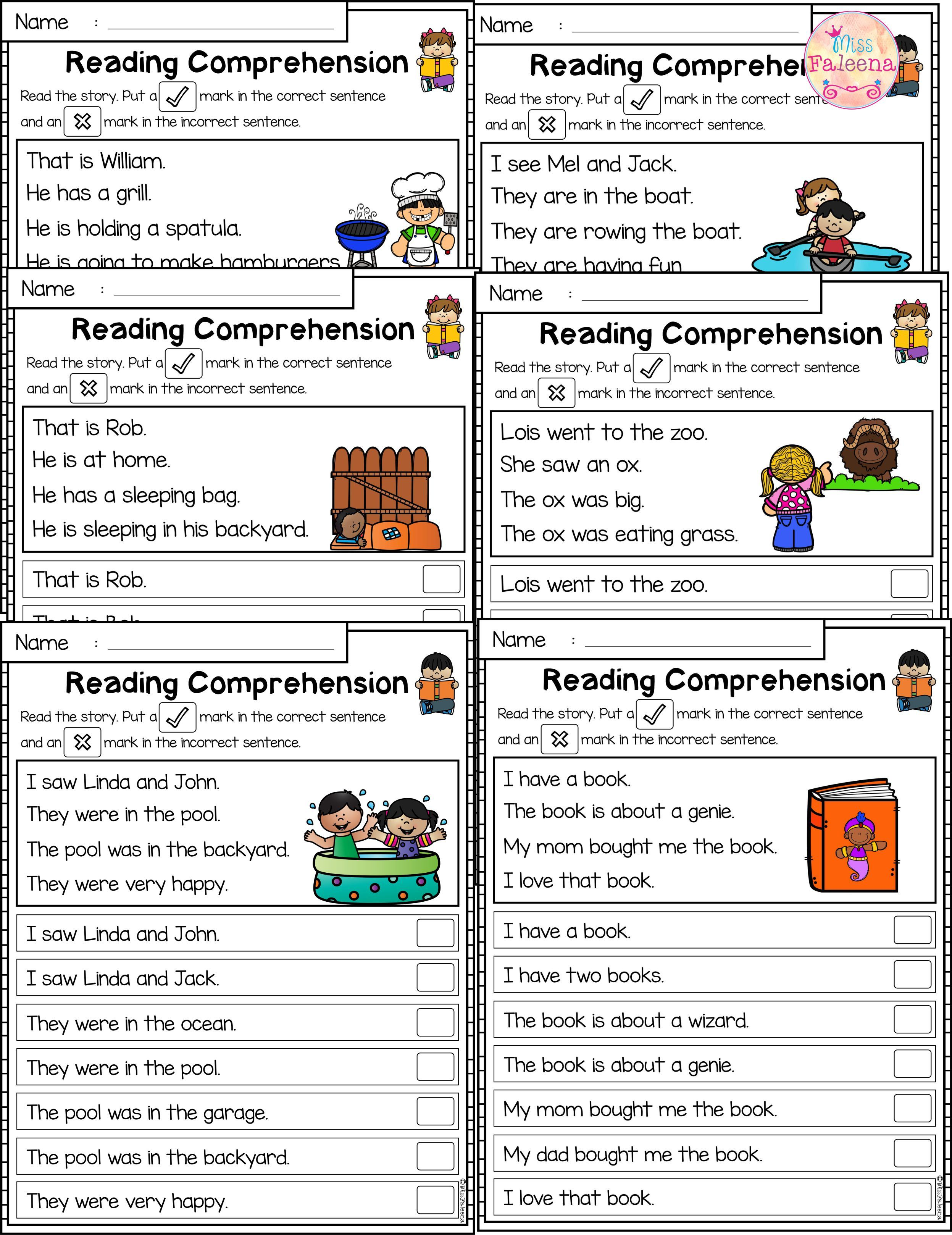 July Reading Comprehension Passages Is Suitable For Kindergarten Students Or Beginni Reading Comprehension Reading Comprehension Passages Comprehension Passage