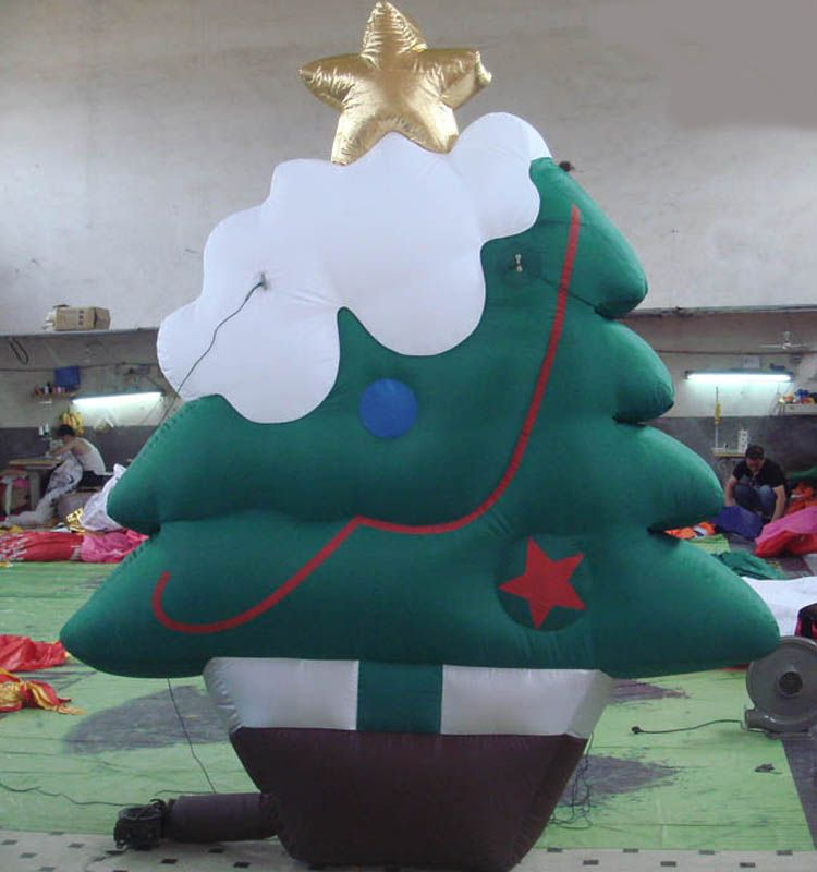 outdoor decoration giant inflatable christmas tree alibaba