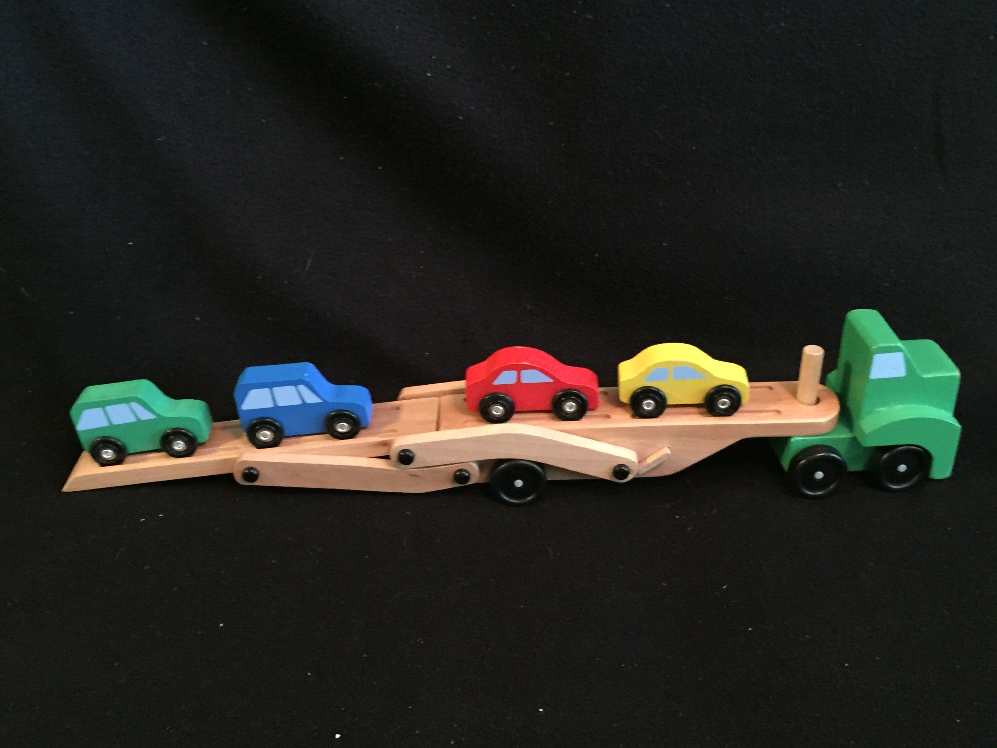 Melissa Doug Car Carrier Truck Cars Kids Heaven In