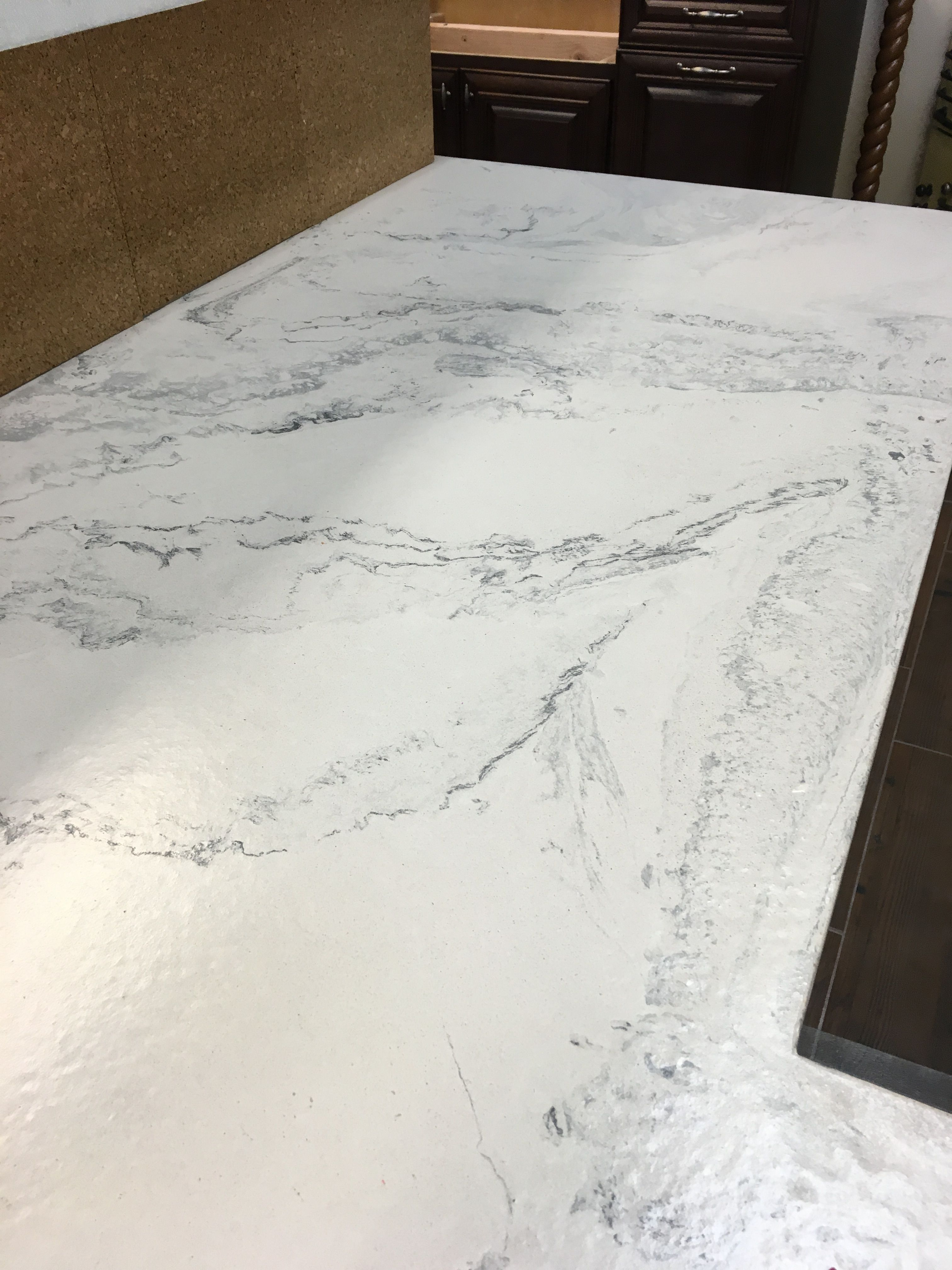 Marble Look Concrete Countertop By Complete Interiors Concrete