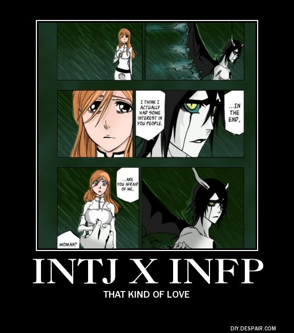 Intj and infp dating
