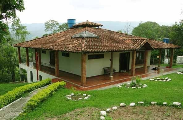 Casas campestres buscar con google casasrusticaschicas for Casas prefabricadas pequenas
