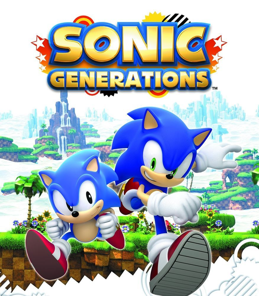 Original Sonic Generations Xbox 360 New Christmas Gift For Kids Game Boys Girls Sega Sonic Generations Generation Game Sonic