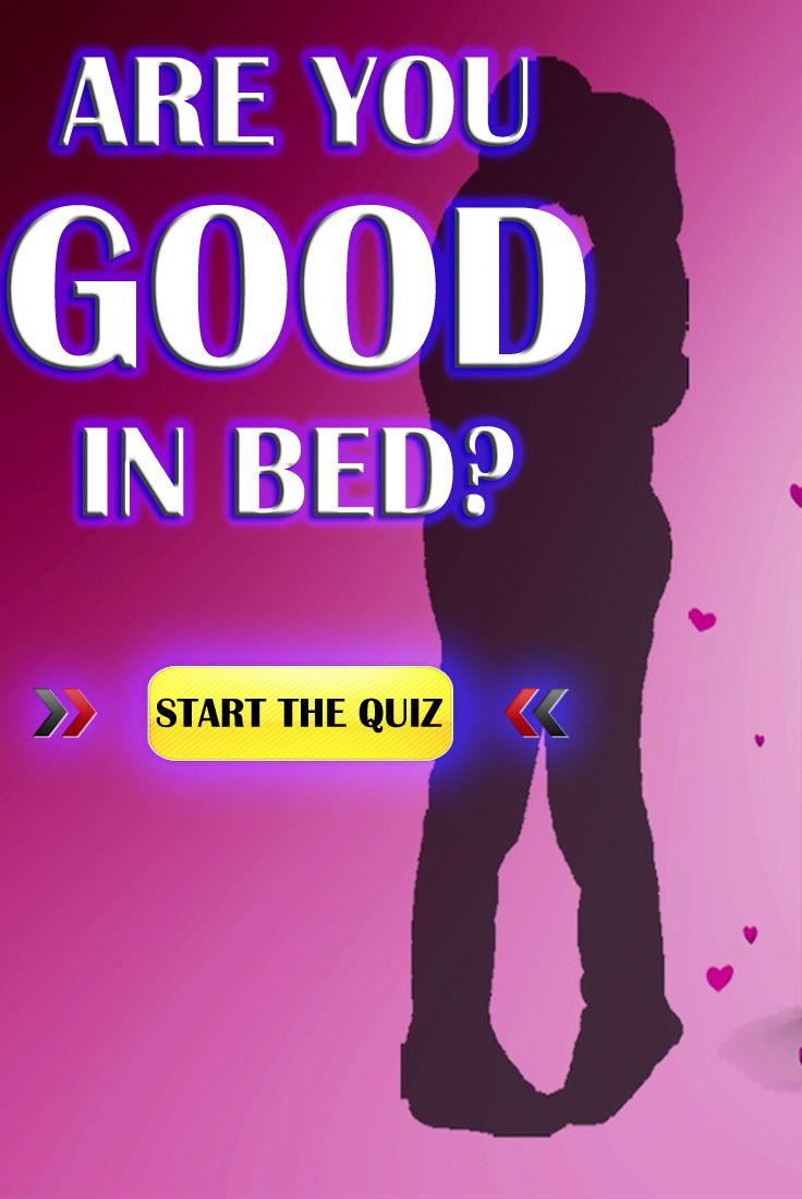 How good at sex are you quiz