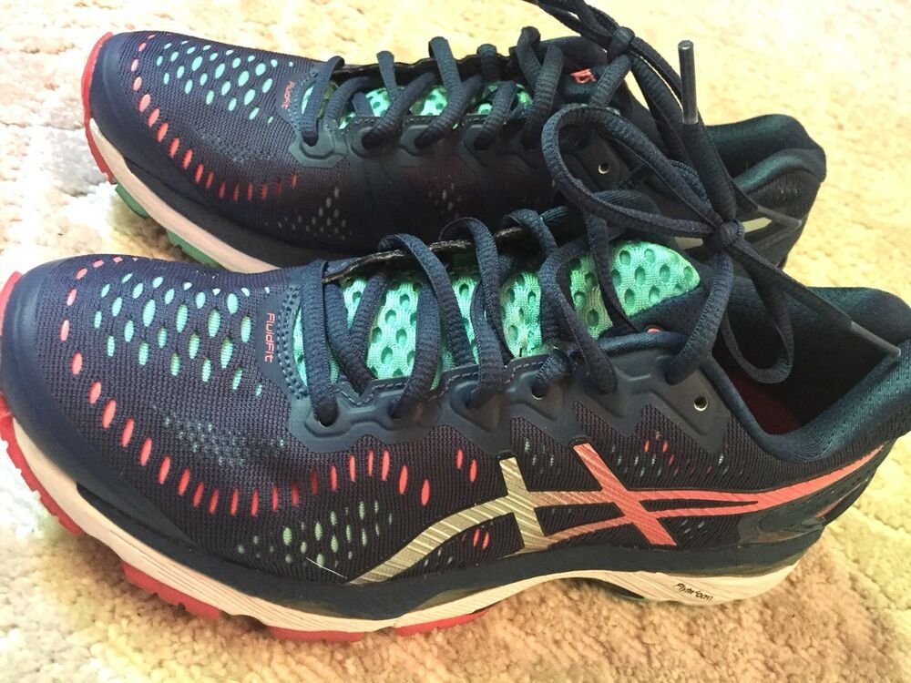 Asics T6996N Kayano FlyteFoam Womens Running Shoes Size 7 1
