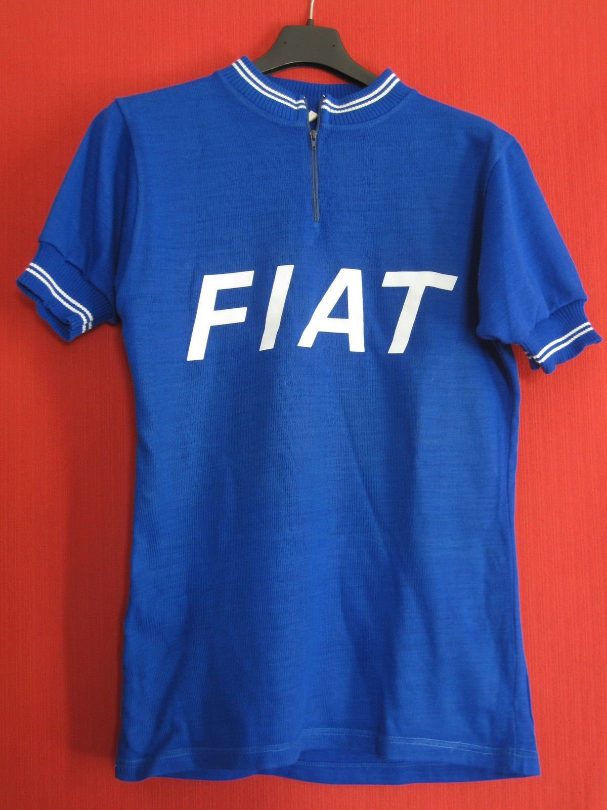 Maillot Cycliste Fiat Automobile Vintage Rare Tour DE France S M ... e789f48f0