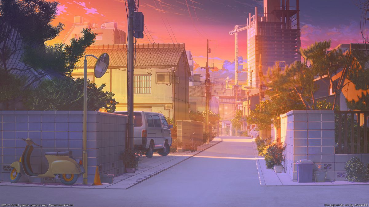 Dynamic Wallpaper Club in 2020 Anime scenery, Anime