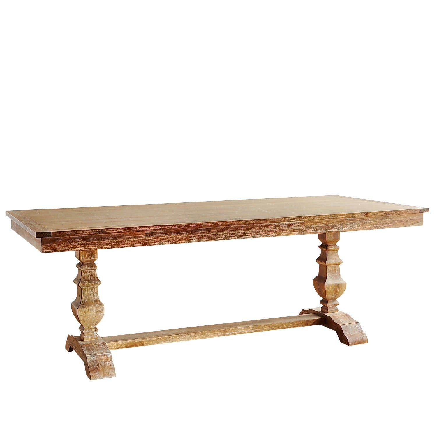 Bradding Natural Stonewash 84 Dining Table Dining Table Dining