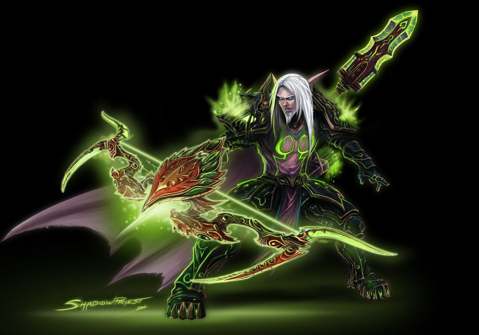 Night Elf Hunter By Shadowpriest On Deviantart Night Elf World Of Warcraft Warcraft