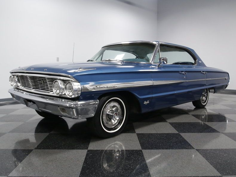 1964 Ford Galaxie 500 4 Door Hardtop With Images Ford Galaxie