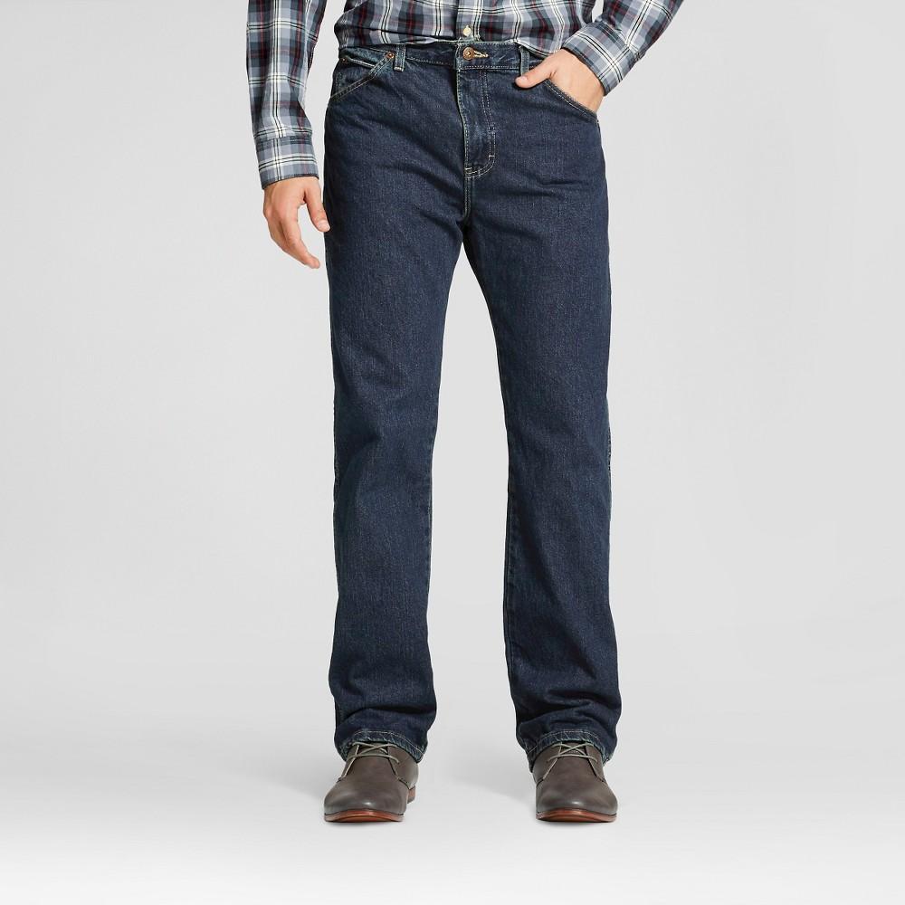 Dickies Men's Big & Tall Regular Straight Fit Denim 6-Pocket Jean- Khaki Tint 44x32
