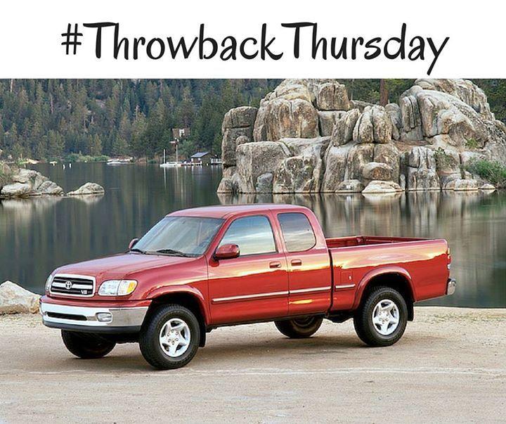 #TBT: 2001 #Toyota #Tundra
