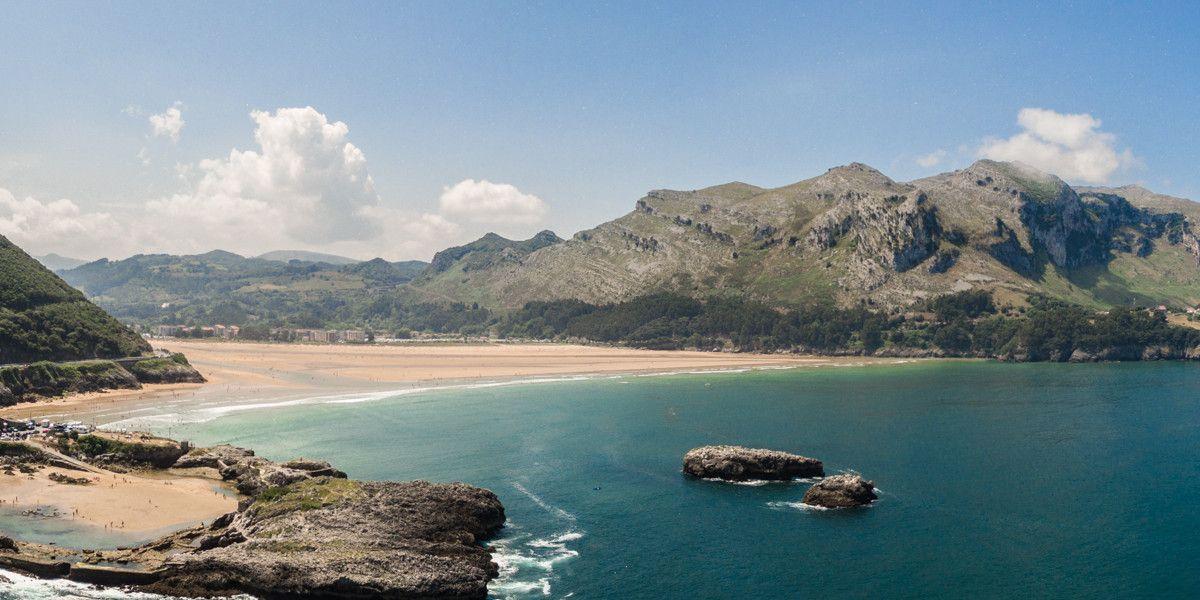 Bahía de Oriñón, Cantabria, Spain - http://bestdronestobuy.com/bahia-de-orinon-cantabria-spain/