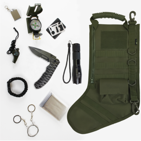 Tactical Christmas Stocking Stuffed.Pre Stuffed Tactical Christmas Stocking For My Family
