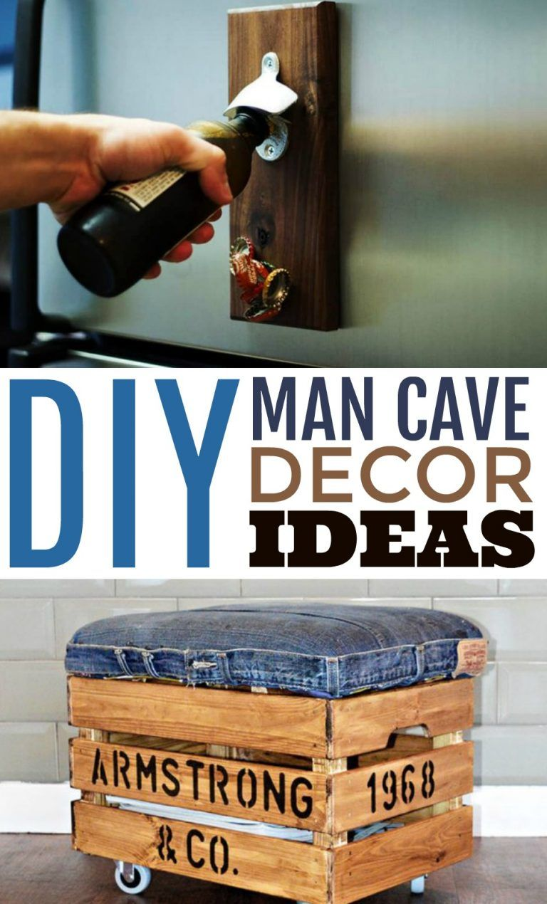 Diy Man Cave Decor Ideas A Little Craft In Your Day Bar Stools