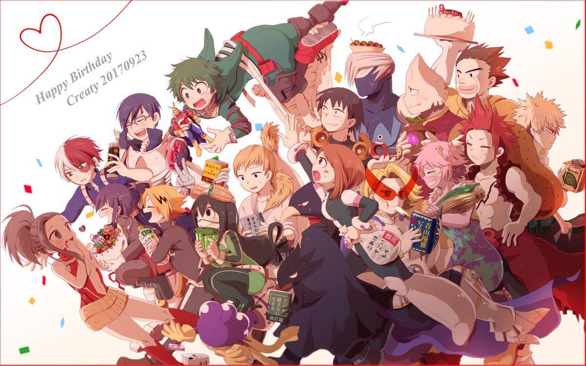 Bnha Birthday Game My Hero Academia My Hero Academia Episodes My Hero Academia Manga