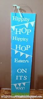 Easter's On Its Way Sign by Tasha Hart
