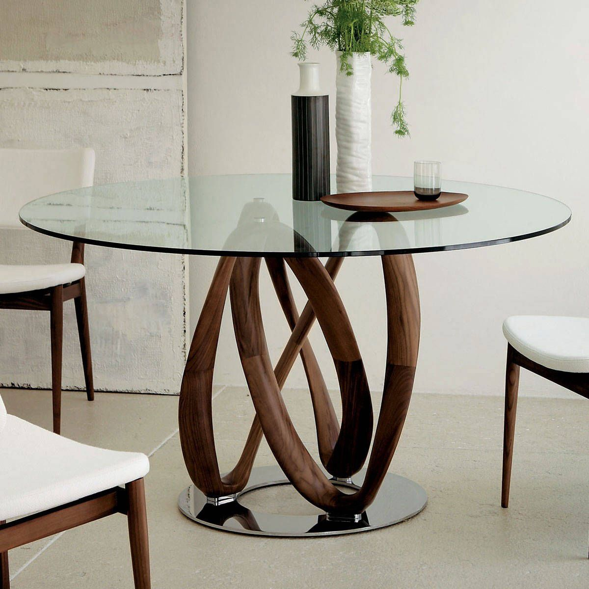 Porada Round Table Google Search Glass Round Dining Table