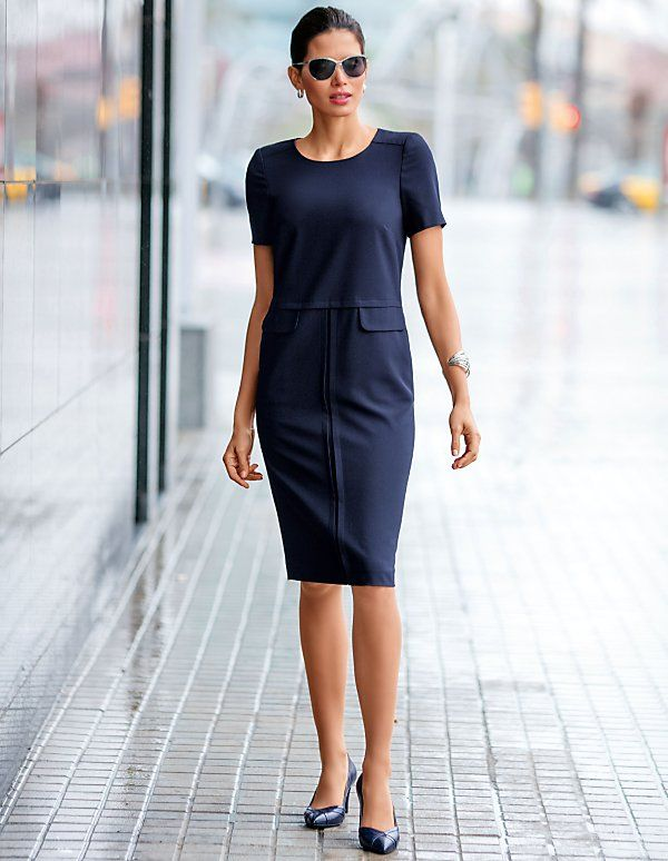 Rochie eleganta cu maneci scurte   MADELEINE moda Austria