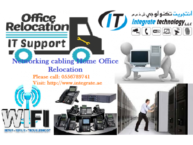 NETWORK CABLING HOME OFFICE RELOCATION WIFI TELEPHONE IN DUBAI ...