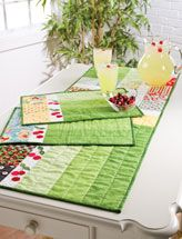 Like the placemats, different fabric of course.