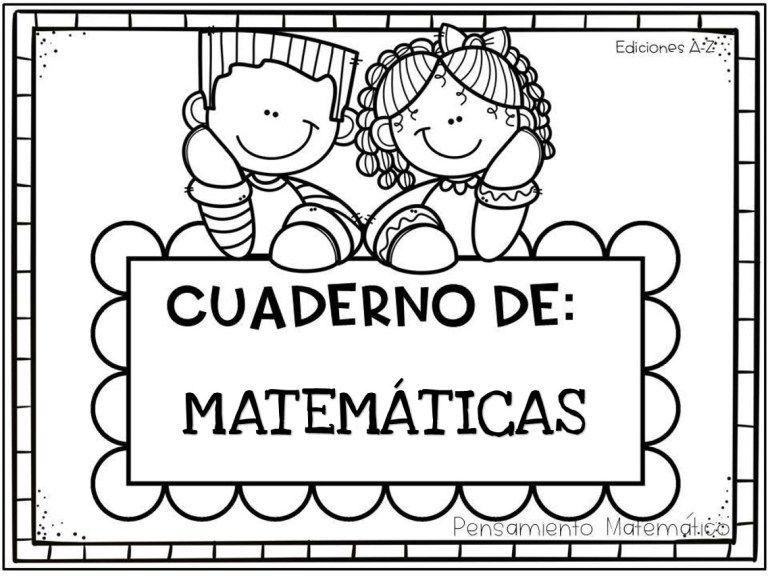 Cuaderno Para Desarrollar El Pensamiento Matemático 60 Paginas Cuadernos De Matemáticas Primeros Grados Primer Grado De Primaria