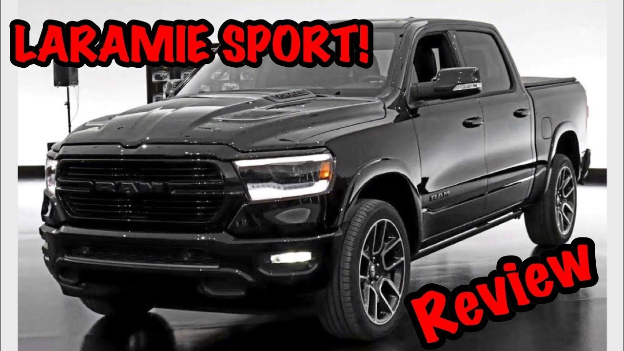 ALL NEW 2019 RAM 1500 LARAMIE SPORT REVIEW! *BLACK OUT