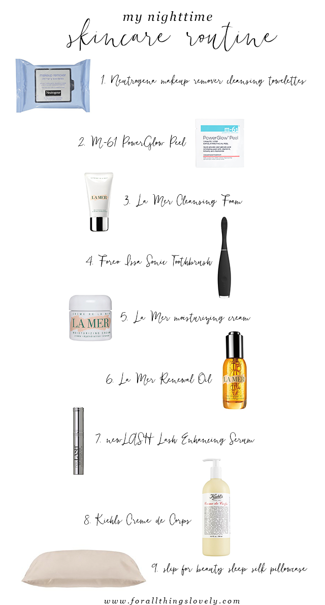 Nighttime Skincare Routine Nighttime Skincare Skin Care Salon Night Time Skin Care Routine