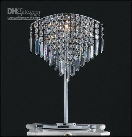 Wholesale table lamps buy lovely unique crystal chandelier light table lamp newe054