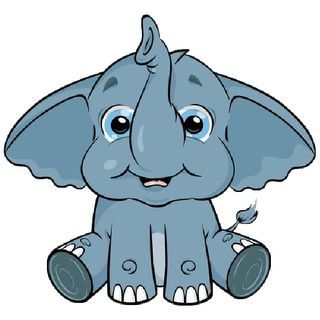 cute baby elephant clip art clipart best clipart illustrations rh pinterest co uk baby elephant clip art svg baby elephant clipart png