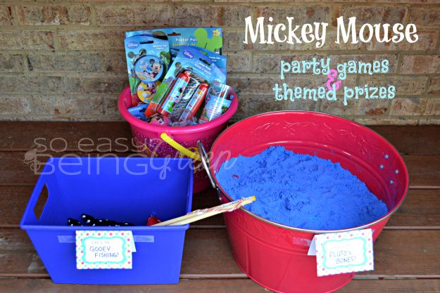 DIY Mickey Mouse Birthday Party Ideas Mickey mouse party games
