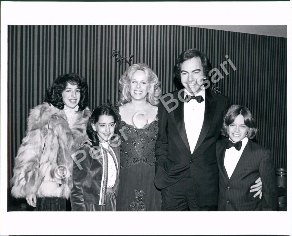 Pb Photo Aas 004 Neil Diamond Singer And Family Neil